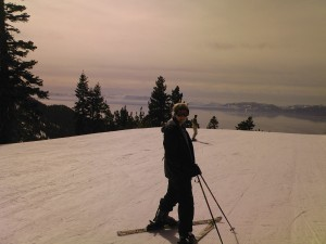 Skiing in Tahoe
